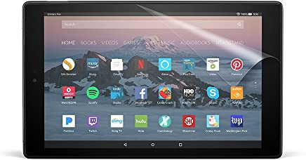 NuPro Clear Screen Protector for Amazon Fire HD 10 Tablet...