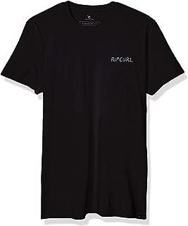 Rip Curl Mens Pina Lounge Pocket Premium Tee Short Sleeve T-Shirt