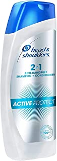 Head and Shoulders 2-in-1 Active Protect Anti Dandruff Shampoo+Conditioner, 180ml