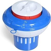 Milliard Chlorine Floater with -Red Empty Gauge- Floating Chlorinator Dispenser