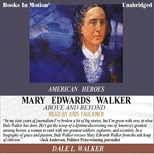 Mary Edwards Walker audiobook cover art
