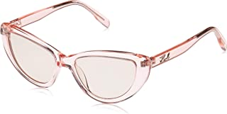 Karl Lagerfeld Women's Aviator Pink Plastic Sunglasses - KL969S 132 55-17-140mm