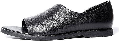 Sandales et Sandales pour Hommes avec Une Version Han décontractée des Chaussures et des Sandales Creuses pour Hommes à la Mode