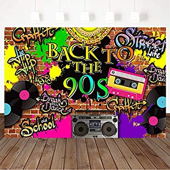 Best 90s themed backdrops Reviews