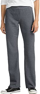 ComfortSoft Women's Petite Open Bottom Leg Sweatpant