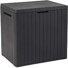 Keter City Box Arcón, Efecto Madera, 44 x 58 x 55 cm