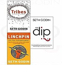 Seth godin tribes, linchpin, dip 3 books collection set