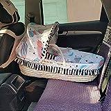 Recién Nacido bebé Moses Cesta, Fundas de Cama Cuna Halo Mimbre Deluxe Moisés Cesta luz Cama portátil Cuna for Coche Cama de Viaje for Dormir (Color : A6)