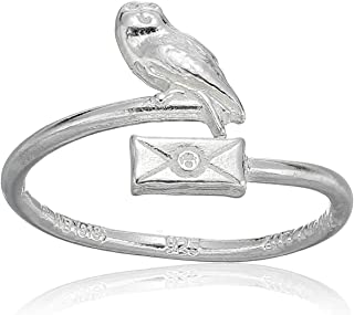Womens Harry Potter Owl Post Ring Wrap
