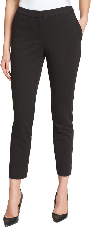 Tommy Hilfiger Womens Newport Casual Trouser Pants, Black, 12