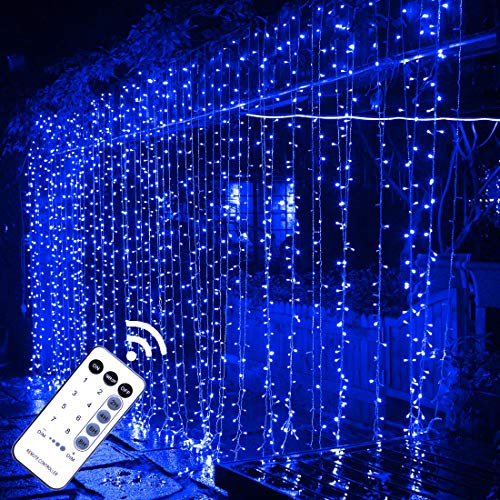 15% off LED curtain string lights