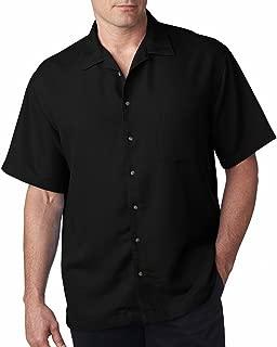ultraclub men's cabana breeze camp shirt