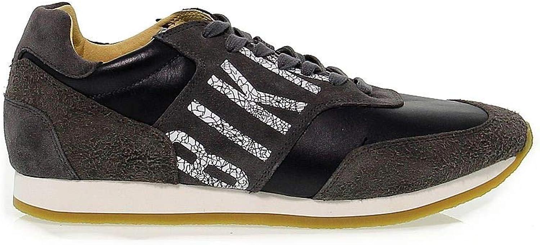 BIKKEMBERGS Herren BKE108294 Grau Wildleder Sneakers B07JKK9DLG  | Reichhaltiges Design