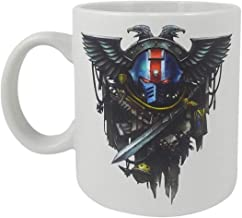 Warhammer 40K Space Marines Ceramic Coffee Mug, 16 oz - Games Workshop, Official Licensed Product