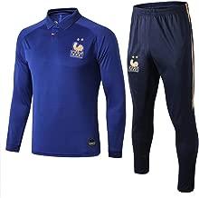 WigColtd Sportbekleidung Französische Centennial Edition Langarm Fußballbekleidung Winterjacke Aussehen Pullover Trainingsanzug Set