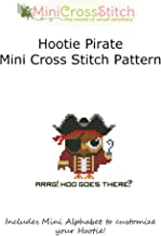Hootie Pirate Mini Cross Stitch Pattern