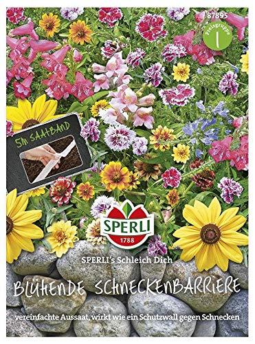 Sperli-Samen SPERLI's Schleich Dich Blühende Schneckenbarriere