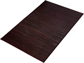 BuyHive Bamboo Rug Natural Bamboo Home Kitchen Area Floor Carpet Mat (6'x9', Brown)