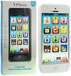 YOYOSTORE Child's Interactive My First Own Cell Phone - Play to learn, touch screen with 8 functions and dazzling LED...