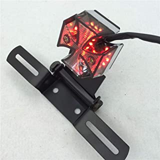 Charitable Motorcycle Tail Light Choppers Dirt Bike Maltese Cross Led Rear License Plate Tail Light For Most Dual Sport/dirt Bikes Quads For Fast Shipping Atv,rv,boat & Other Vehicle