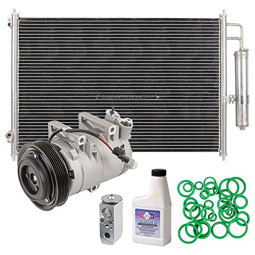 A/C Kit w/AC Compressor Condenser & Drier For Nissan Rogue 2008 2009 2010 2011 2012 - BuyAutoParts 60-82662R6 New