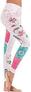 Chisportate High Waist Yoga Pants, Tummy Control Workout Pants for Women Super Soft Capri Leggings
