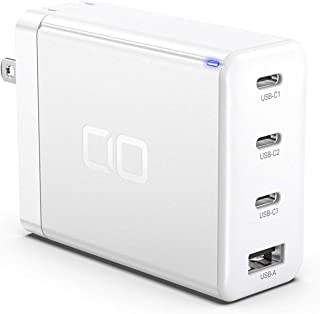 CIO-G100W3C1A USB PD 充電器 タイプC 100W USB-C 【GaN 窒化ガリウム】 急速充電器 iPhone 4ポート iPad 高速充電器 Android iPhone11 iPhone12 / 12 Pro / 12...