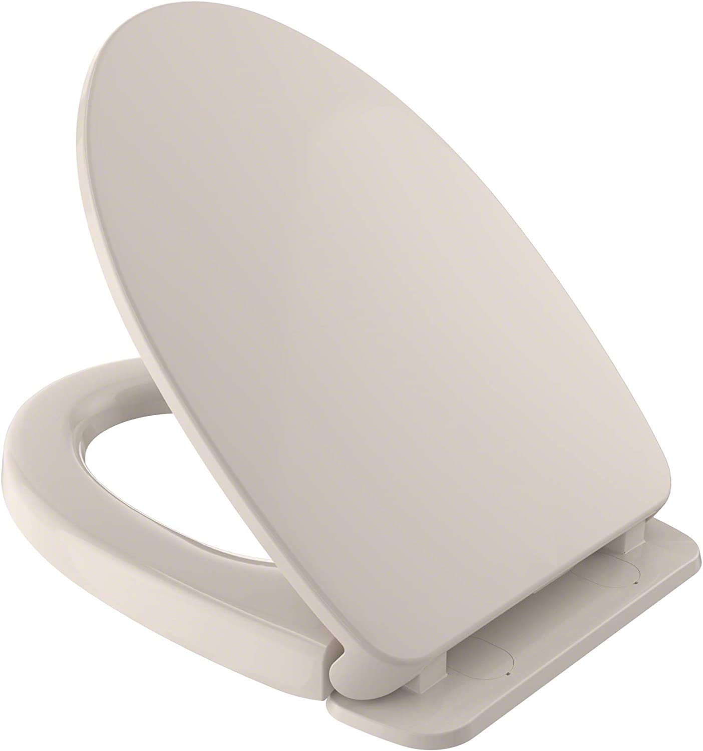 TOTO Ranking integrated 1st place SS124-12 SoftClose Albuquerque Mall Non Slamming and Seat Elongated Toilet