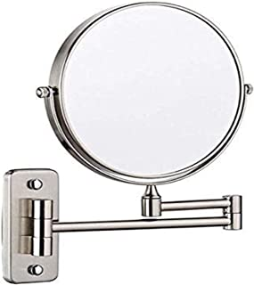 مرآة فانيتي ميرور أون ذا وول مقوّاة على الوجهين، 20.32 سم، مرآة مثبتة على الجدار