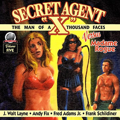 "Secret Agent ""X"" Volume Five audiobook cover art"