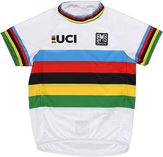 Santini Kid's UCI World Champion Design Peuter shirt met korte mouwen, meerkleurig, One Size