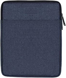 AINAAN iPad/Tablet Sleeve Case ,Shockproof, Waterproof, Portable, Accessory And Charger Storage Bag, 9.7 Inch, Navy Blue