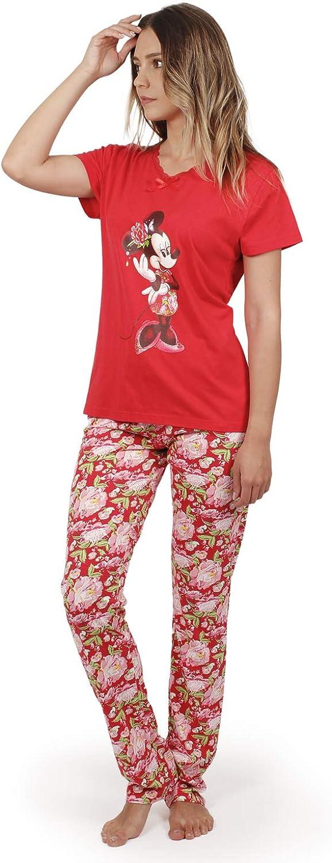 Disney Pijama Manga Corta Minnie China para Mujer