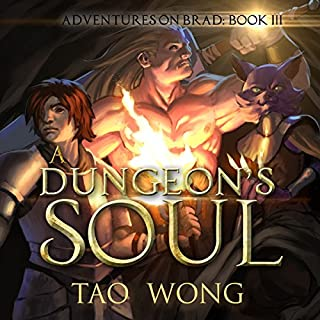 A Dungeon's Soul audiobook cover art
