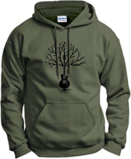 Guitar Clothing Guitar Tree of Life Music Clothing Hoodie Sweatshirt