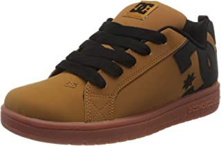 DC Shoes Court Graffik, Zapato de Skate Niños