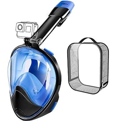 It Snorkeling Mask Full Face 180° Panoramic Vi...