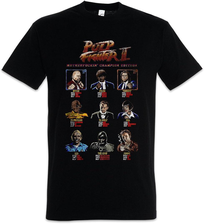Urban Backwoods Pulp Fighter II Camiseta De Hombre T-Shirt