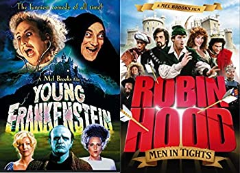 Mel Brooks  Masterpiece Collection  Robin Hood Men in Tights & Young Frankenstein Comedy Movie DVD bundle