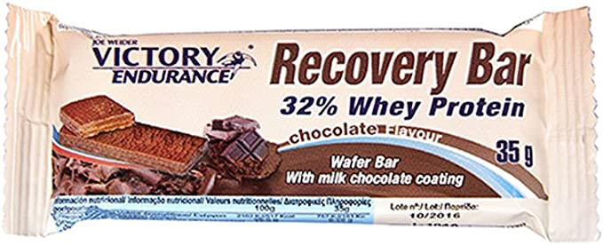 Victory Endurance Recovery Bar 32% Whey Protein Chocolate 35 ...