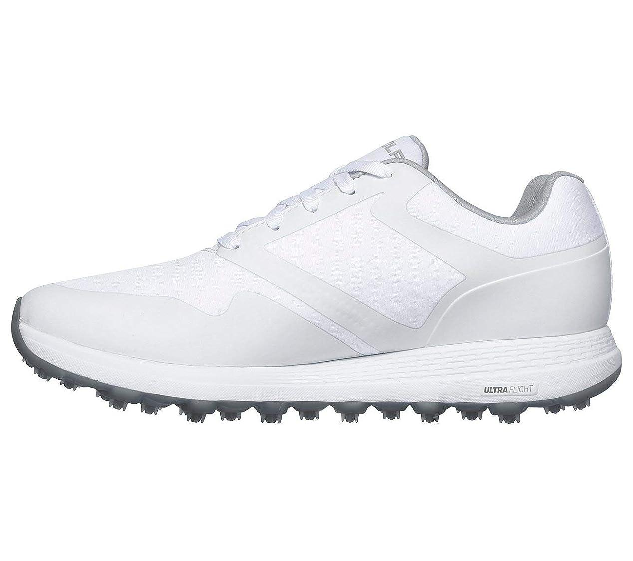 ダメージ突然日付[スケッチャーズ] Womens Max-Fade Low Top Lace Up Golf Shoes [並行輸入品]