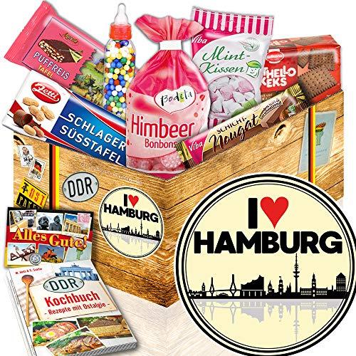 I love Hamburg / Hamburg Geburtstagsüberraschung / Süßigkeiten Box