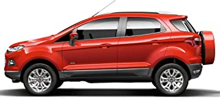 Dawn Enterprises FE-ECO18 Finished End Body Side Molding Compatible with Ford EcoSport - Canyon Ridge Pearl (C7 / M7378)