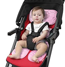 Atmungsaktiv Bequem rainnao Sitzauflage Kinderwagen Universal Weich Baby Sitzauflage Buggy Sommer
