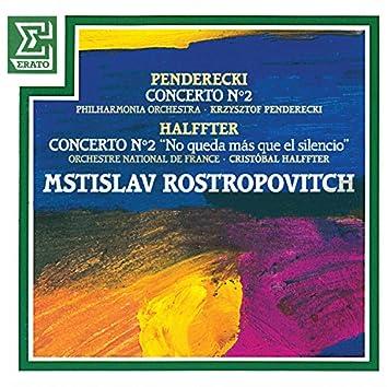 Penderecki: Cello Concerto No. 2 - Halffter: Cello Concerto No. 2