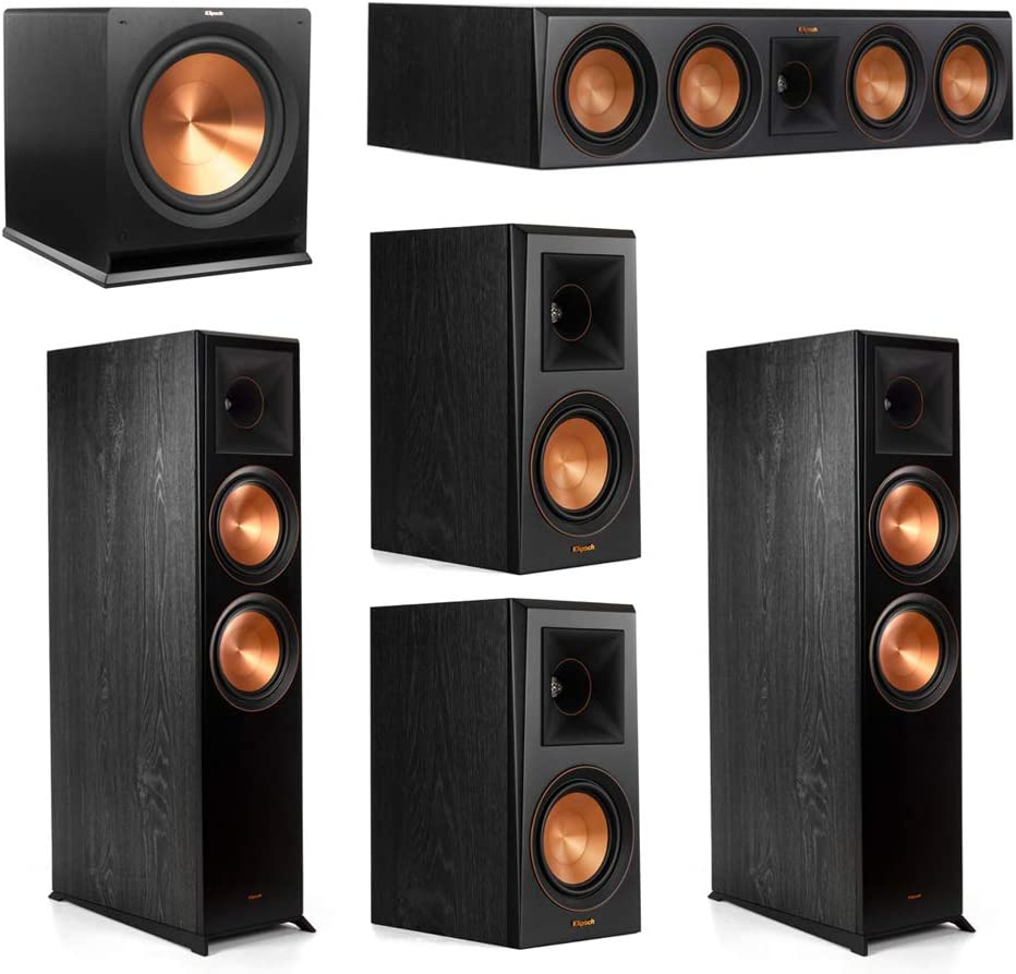 Klipsch 5.1.2 System - 2 OFFer RP-8060FA Dolby 1 RP-50 Speakers Special price Atmos