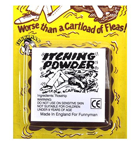 Funnyman Products- Itching Powder Polvere prurito, Multicolore, Party Pro_86704