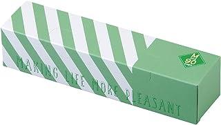 驚異の防臭袋 BOS (ボス) ストライプパッケージ/透明グリーンMサイズ90枚入 赤ちゃん用 おむつ ・ ペットシーツ うんち ・ 生ゴミ ・ サニタリー などの処理に