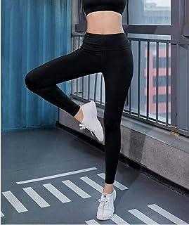 Vita alta leggings donna nylon Spandex Gym Yoga Allenamento Sport Pantaloni Elastico