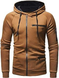 Sunward Men Couple Warm Solid Zipper Stand Collar Long Sleeve Sport Outdoor Coat Outwear